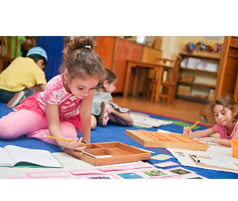 بررسی آزادی کودکان در شیوه آموزشی مونتسوری