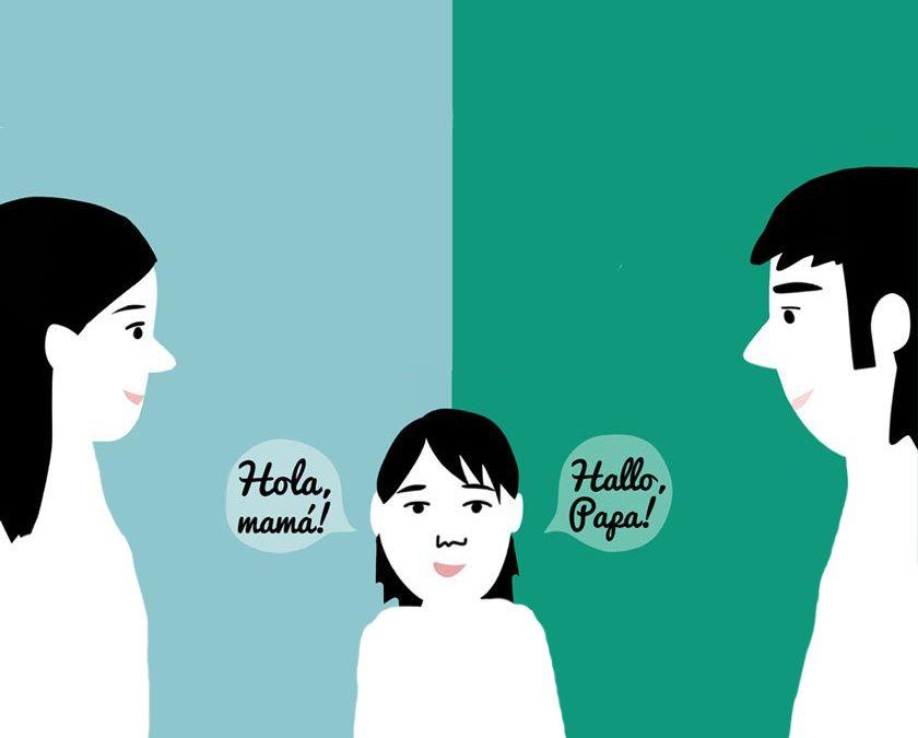کودک دوزبانه