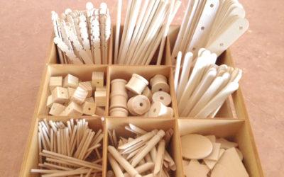 ابزار و مواد کاربردی در مهدکودکهای رجیو امیلیا